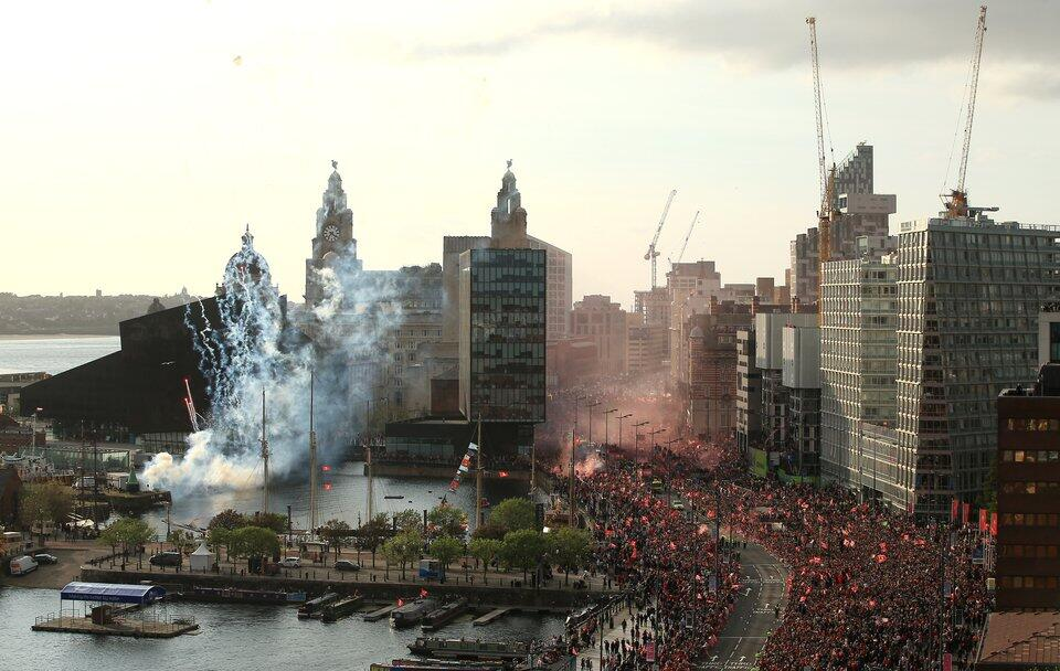 Party in Liverpool