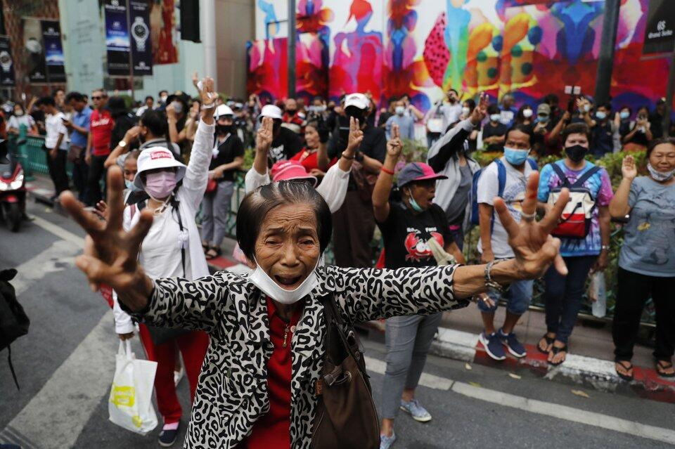 Protest in Bangkok