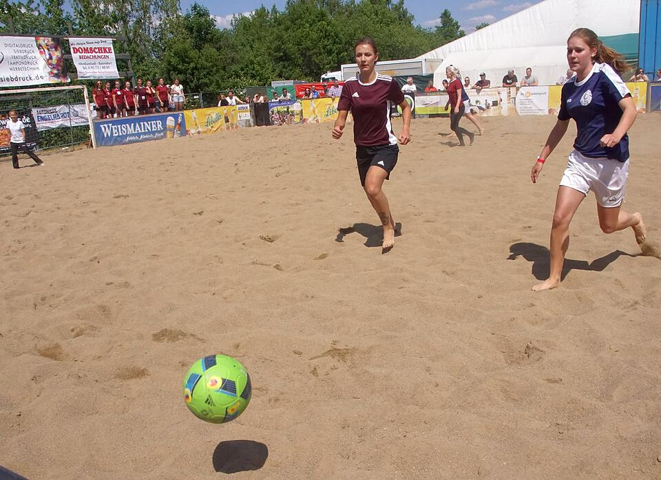 Beachsoccer-Cup in Isling.